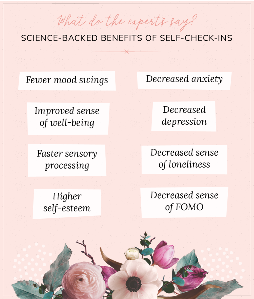 Science-backed benefits of checking in with yourself