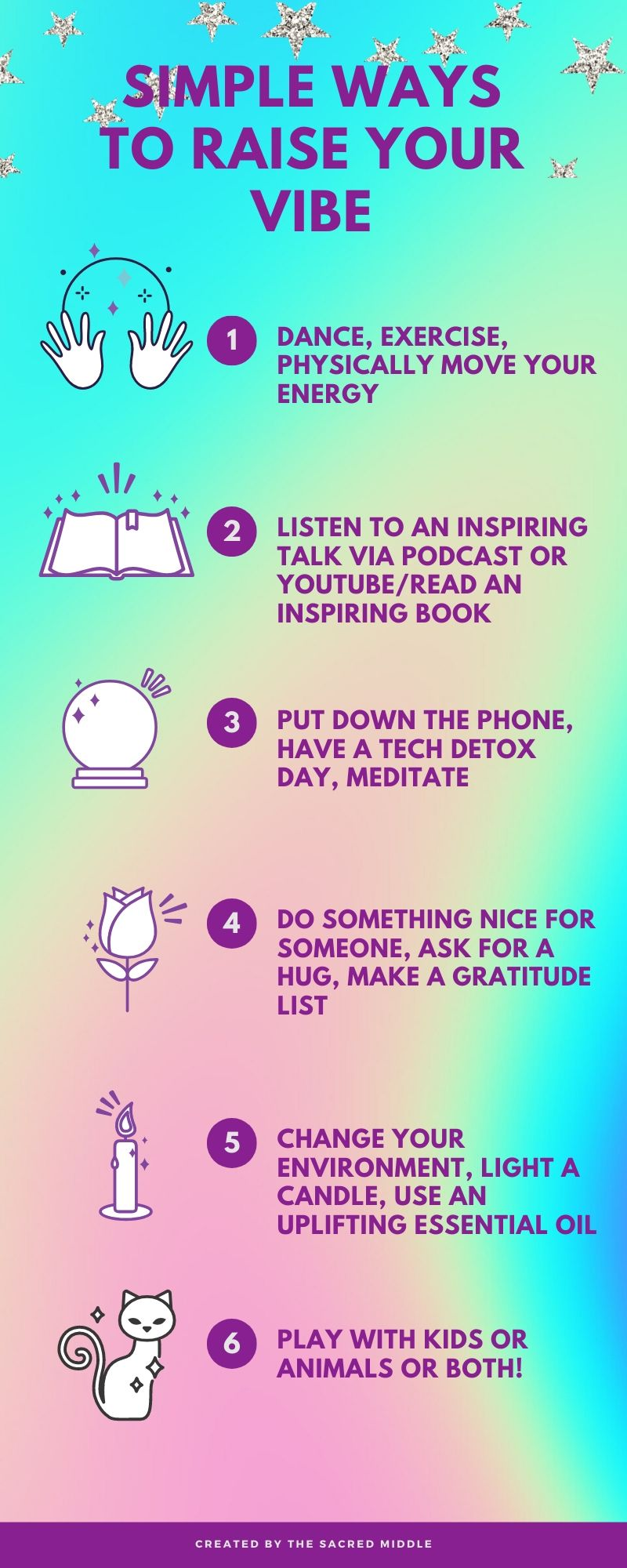 Simple Ways to Raise Your Vibe