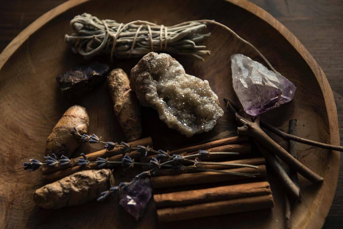 Autumn Mabon Altar Tools
